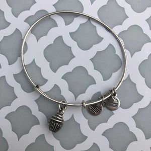 Authentic Alex and Ani cupcake bracelet